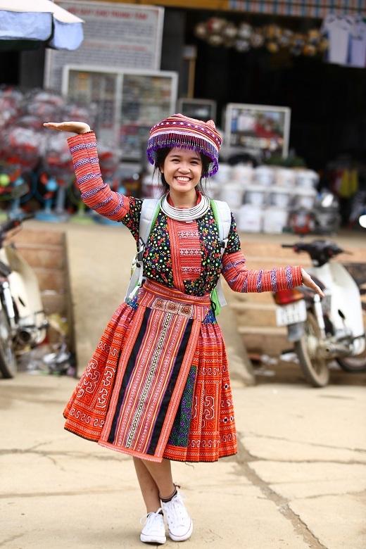 Nguyên Thụylà 1 trong 3 cô gái đã vượt qua hàng trăm các thí sinh khác để trở thành cô gái của Laurier Fresh & Free.