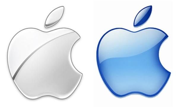 Những lần thay đổi logo sau đó của Apple đều chọn hình ảnh quả táo khuyết đơn sắc.