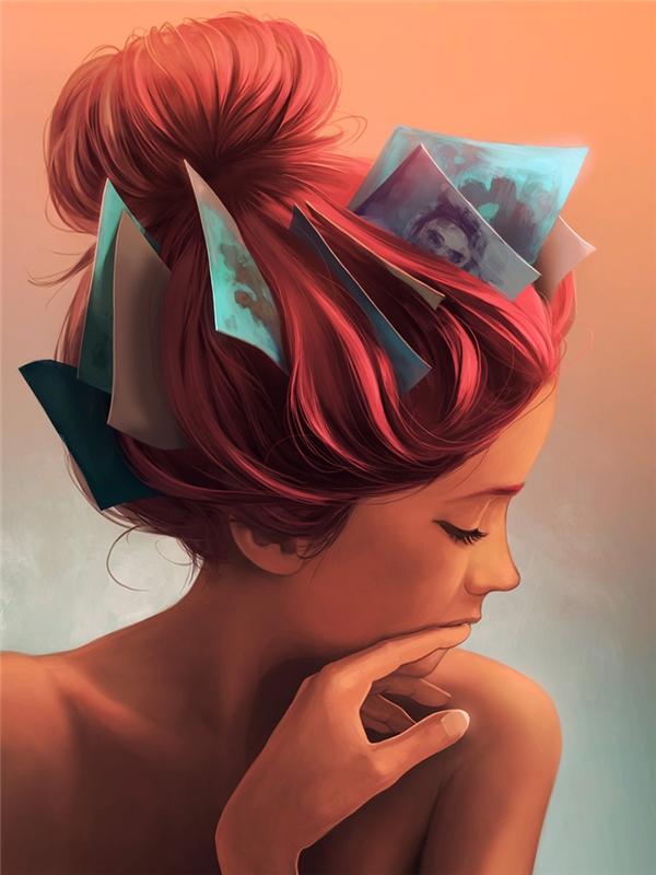 Nỗi nhớ là những hình ảnh khắc sâu vào tâm trí, bất kể thế nào cũng không thể nhạt phai.