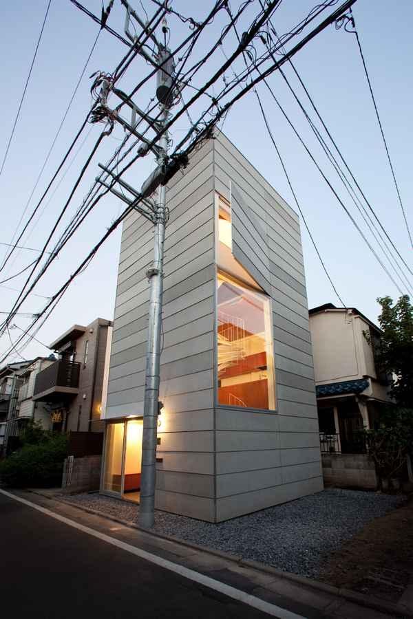 Những ngôi nhà bé xinh như thế này ngày càng phổ biến ở Nhật Bản.