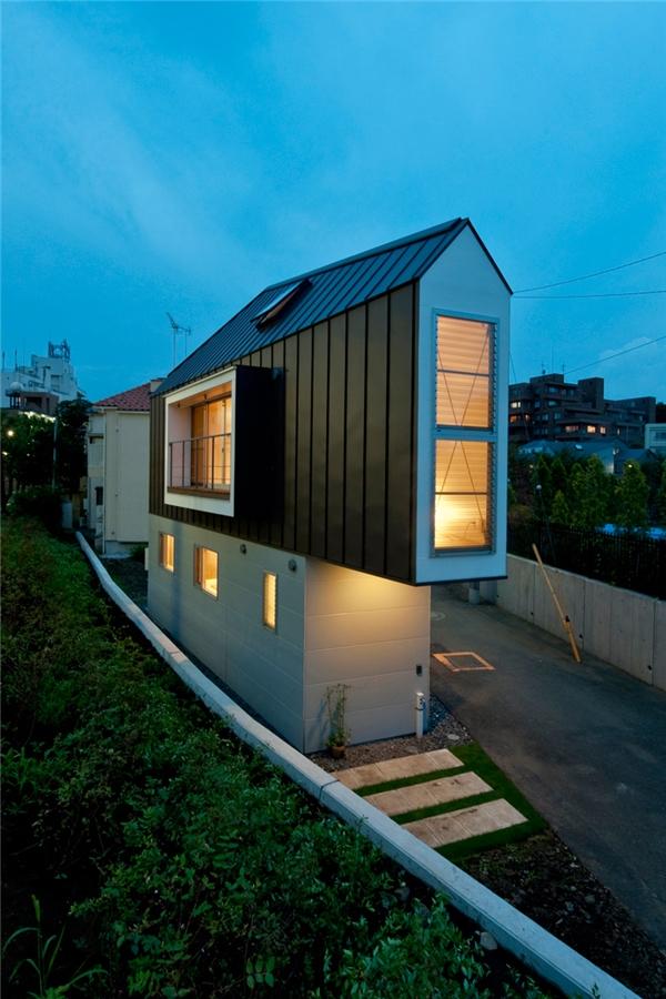 Một ngôi nhà tí hon có thiết kế vô cùng đẹp mắt.