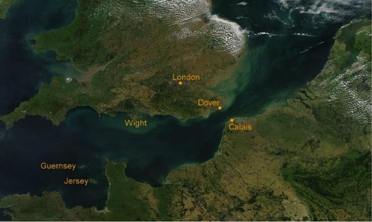 Hành trìnhPhilippe Croizon phải vượt qua trong cuộc chinh phục eo biển Manche