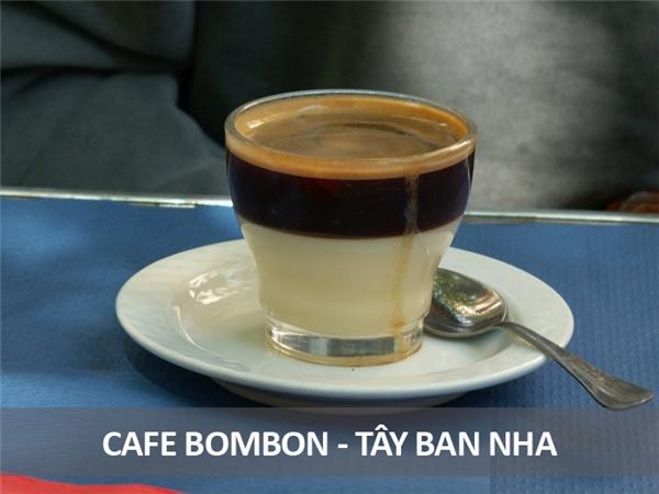 Món cà phê này của người Tây Ban Nha rất ngọt và đặc, gồm sữa đặc hòa trộn với cà phê đen, dành cho những ai hảo ngọt nhưng vẫn muốn thưởng thức hương vị thơm lừng của cà phê.