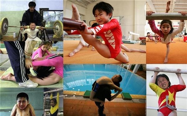 VĐV Trung Quốc được đào tạo chuyên môn từ thuở nhỏ chỉ với một mục đích duy nhất: giành huy chương Olympic.
