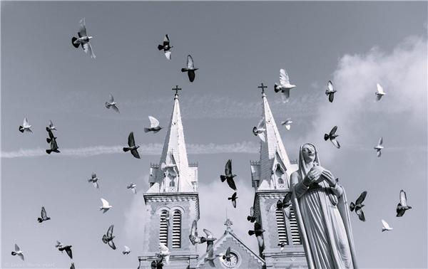 Nhà thờ Đức Bà Sài Gòn. Ảnh: Trần Đình Thắng