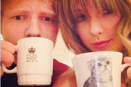 Ed và Taylor và đôi bạn vô cùng hợp cạ.