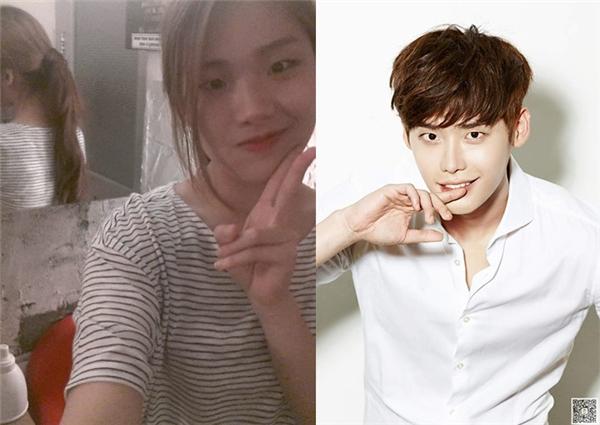 Cô gái khiến mọi người sửng sốt khi có ngoại hình giống hệt Lee Jong Suk.