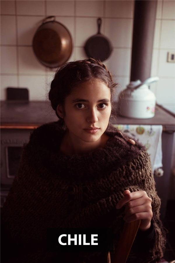 Thếu nữEl Paico, Chile mang nét đẹp điển hình nhưnữ chính trong các cuốn tiểu thuyết kinh điển.