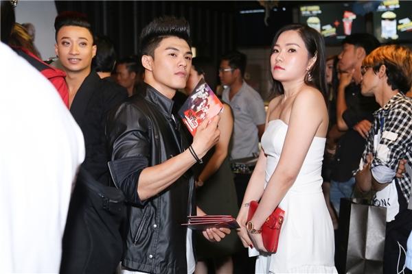 """Vợ cũ""""tháp tùng"""" Lâm Vinh Hải đến buổi ra mắt phim có anh tham gia diễn xuất - Tin sao Viet - Tin tuc sao Viet - Scandal sao Viet - Tin tuc cua Sao - Tin cua Sao"""