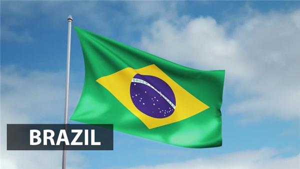 Nền xanh lá cây của quốc kỳBrazil là màu biểu tượng của vua Pedro, vị hoàng đế đầu tiên của Brazil. Màu vàng đại diện cho nữ hoàng Maria Leopoldina và 27ngôi sao trong vòng tròn đại diện cho 27bang, được sắp xếp theo hình dạng của chòm sao Phương Nam.