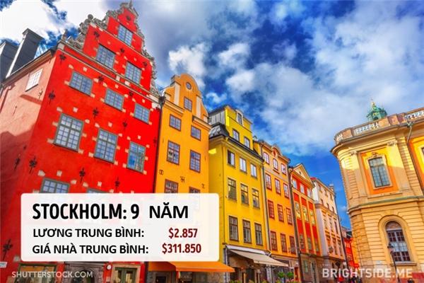 STOCKHOLM - THỤY ĐIỂN