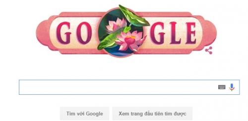 Sự thay đổi bất ngờ của Googlegây thích thú cho các cư dân mạng. Ảnh: internet