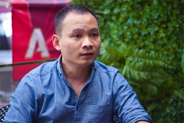 Nhà báo Lại Bắc Hải Đăng. Ảnh: Nguyễn Bá Ngọc.