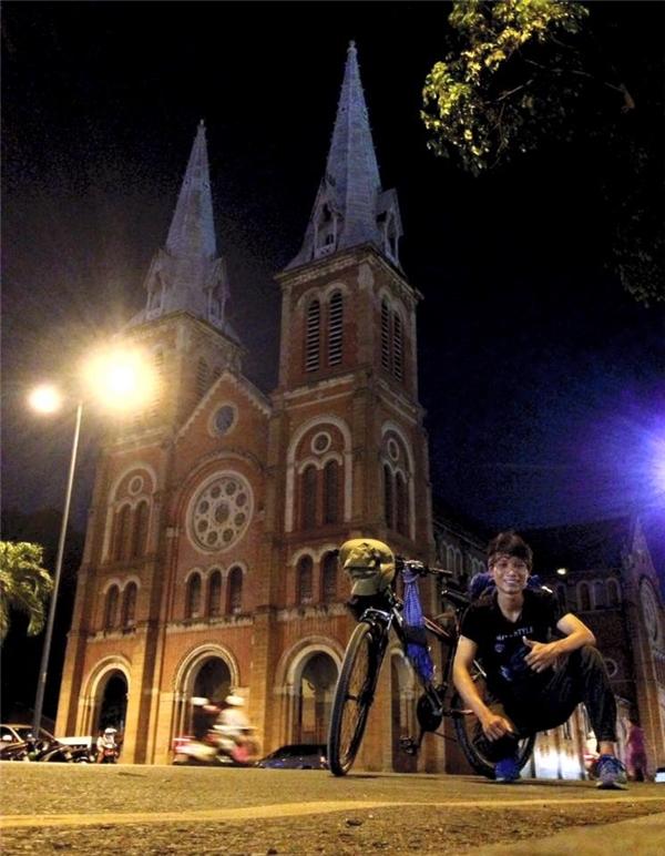 Tất cả những thành phố dọc đất nước,Tiến Tùngđều đã đặt chân qua.(Ảnh: NVCC)