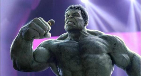 Thí sinh thứ ba được trao giải có tâm và dũng cảm vượt qua chính mình là Hulk, dù chẳng phát âm được chữ nào nhưng giọng ngâm nga của anh chàng quả là không ai dám... át.