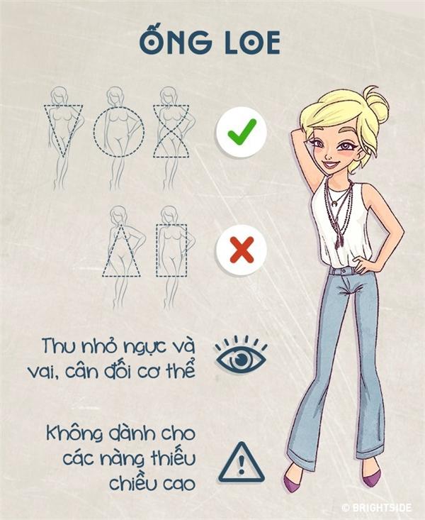 Cẩm nang tuyệt hay giúp bạn luôn chọn được quần jeans ưng ý