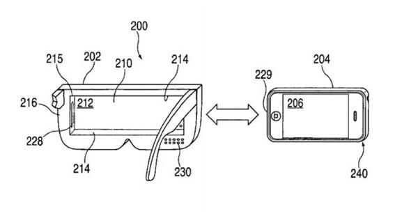 Thiết kế kính thực tế ảo của Apple. (Ảnh: internet)