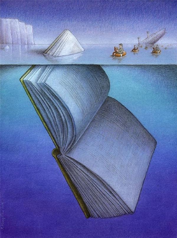 Tri thức sẽ giúp con người sống sót qua mọi hiểm nguy. Và tất cả những gì chúng ta được học đều vô cùng nhỏ bé.