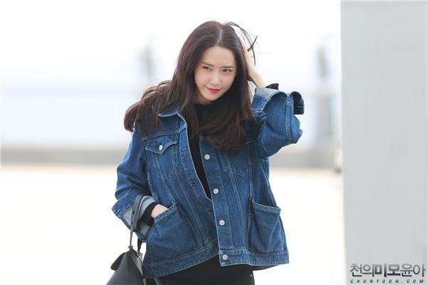 Yoona xuất hiện xinh đẹp tại sân bay Incheon ngày 2/9 vừa qua.
