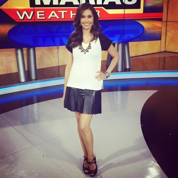 Maria Quiban của đài Fox, Los Angeles năm nay đã 45 tuổi nhưng vẫn có sức hấp dẫn tuyệt vời.