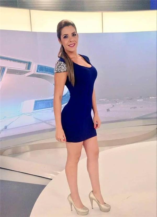 Marilu Kaufman, cô gái dự báo thời tiết của Mexico.