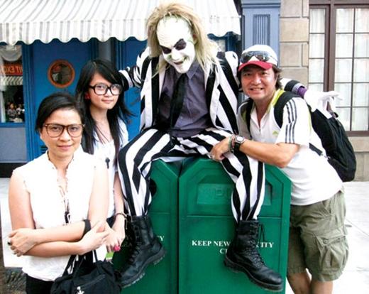 Gia đình hạnh phúc của nữ nghệ sĩ cùng chồng và con gái - Tin sao Viet - Tin tuc sao Viet - Scandal sao Viet - Tin tuc cua Sao - Tin cua Sao