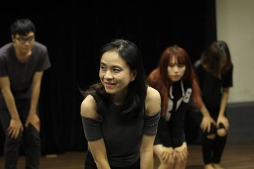 Ngọc Hiệp trong một lần lên lớp - Tin sao Viet - Tin tuc sao Viet - Scandal sao Viet - Tin tuc cua Sao - Tin cua Sao