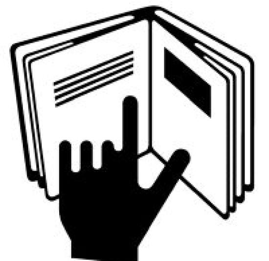 Biểu tượng bàn tay đang lật trang sách cho bạn biết sản phẩm có đính kèm theo sách hướng dẫn sử dụng cũng như các thông tin khác liên quan mà bạn cần biết.