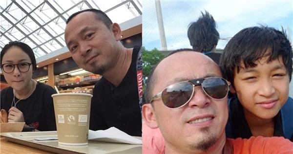 Nghệ sỹ Quốc Trung bên hai con Thiện Thanh và Đăng Quang - Tin sao Viet - Tin tuc sao Viet - Scandal sao Viet - Tin tuc cua Sao - Tin cua Sao