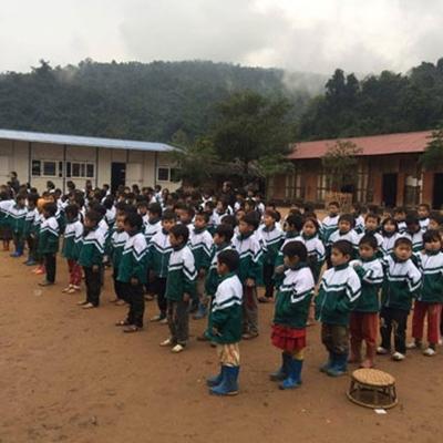 Mầm non, tiểu học, trung học cùng tổ chức chung một lễ khai giảng.