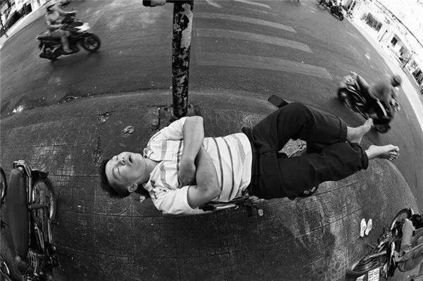 Sài Gòn dễ... ngủ lắm!(Ảnh: Phan Thoai Linh)