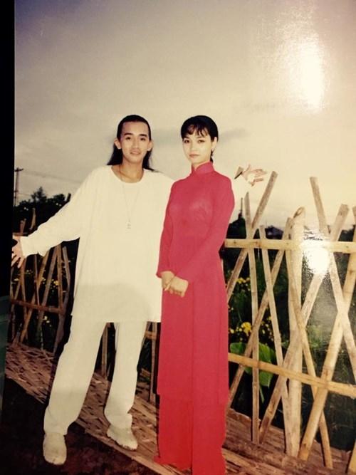 """Mới đây trên mạng xã hội, một số cư dân mạng đã tìm thấy những hình ảnh thời """"ngố tàu"""" thú vị của Minh Thuận và nữ diễn viên Mai Thu Huyền. - Tin sao Viet - Tin tuc sao Viet - Scandal sao Viet - Tin tuc cua Sao - Tin cua Sao"""