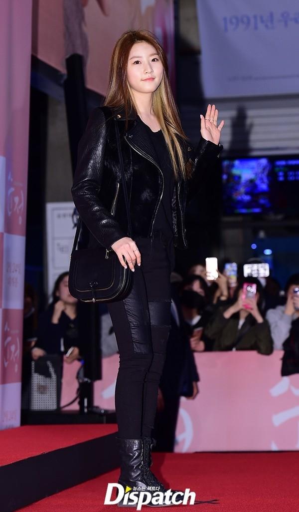 Kim Yoo Jung và Kim Sae Ron đến ủng hộ phim điện ảnh Pure Love của Kim So Hyun hồi đầu năm.