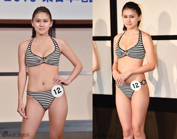 """Mới đây, Miss Nippon 2016 Mika Matsuno cũng phải hứng chịu không ít """"gạch đá"""" vì cho rằng cô nàng chỉ sở hữu gương mặt tròn trịa, phúc hậu chứ diện mạo không thật sự nổi bật, số đo 3 vòng không chuẩn và thân hình quá mập mạp."""