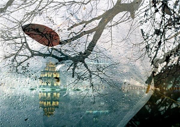 Mơ màng tháp Rùa. Ảnh: Nguyễn Danh Khoa