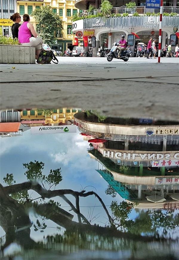 Quảng trường Đông Kinh Nghĩa Thục. Ảnh: Lê Bảo Khang