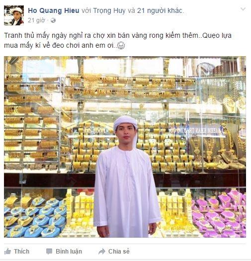 Hóa trang thành người Hồi giáo, Hồ Quang Hiếu khiến người hâm mộ thích thú trước sự điển trai của anh. - Tin sao Viet - Tin tuc sao Viet - Scandal sao Viet - Tin tuc cua Sao - Tin cua Sao