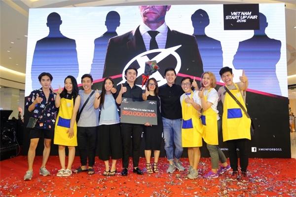 Nhóm Gác-Măng-Giê đã xuất sắc giành giải cao nhất với giải thưởng trị giá 350 triệu đồng.