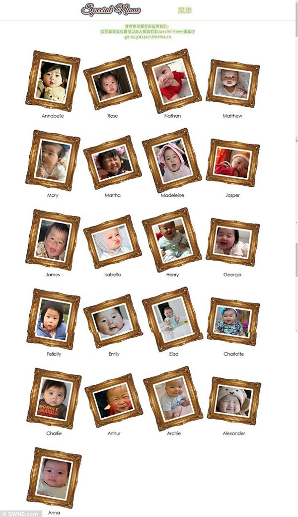 Các bậc cha mẹ còn được khuyến khích đăng tải ảnh con mình lên trang web này.(Ảnh: DailyMail)