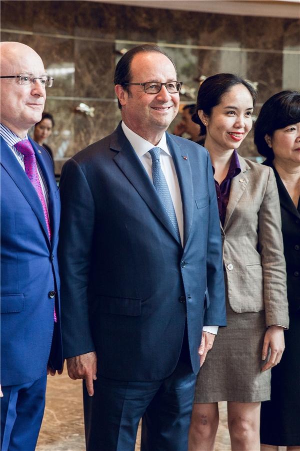 Tổng thống PhápFrancois Hollande