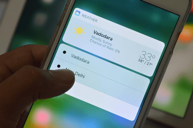 Một số giao diện của iOS 10. (Ảnh: internet)