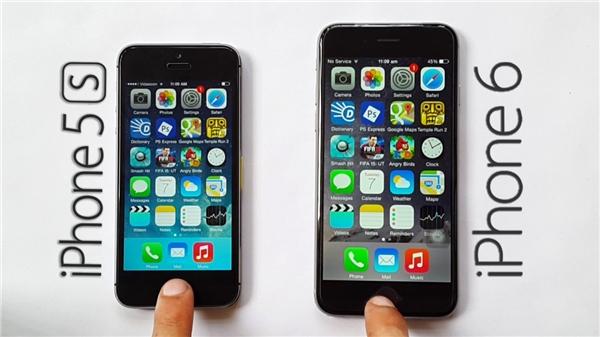 iPhone 5s, 6 và 6 Plus bị Apple loại ra khỏi danh sách bán hàng trên trang chủ. (Ảnh: internet)