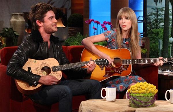 Taylor và Zac thường xuyên dành cho nhau những lời có cánh trên báo chí.