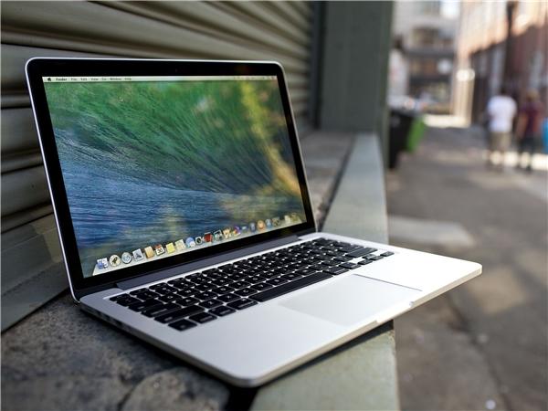 Từng chi tiết nhỏ trên Macbook cũng được Apple chăm chút rất kĩ. (Ảnh: internet)