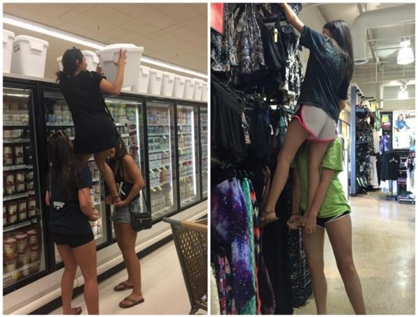 Chiều cao không quan trọng, quan trọng là phải có hội chị em bên cạnh mọi lúc mọi nơi.