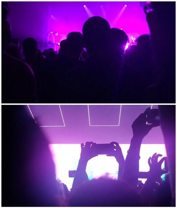 Dự concert là phải tập trung nghe nhạc như thếnày chứ chẳng cần nhìn mặt ca sĩ.