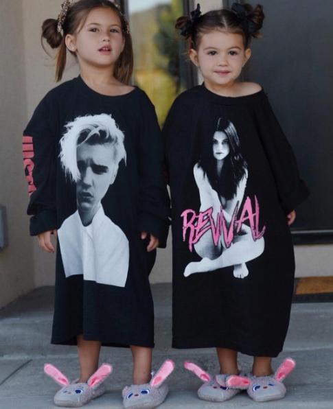 Bọn mình là fan trung thành của Justin Bieber và Selena Gomezđấy.