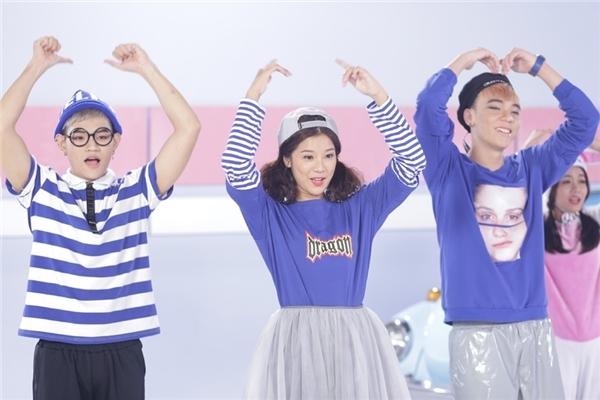 Hoàng Yến Chibi hợp tác cùng bộ đôi trai đẹp TINO ft KOP trong MV mới.