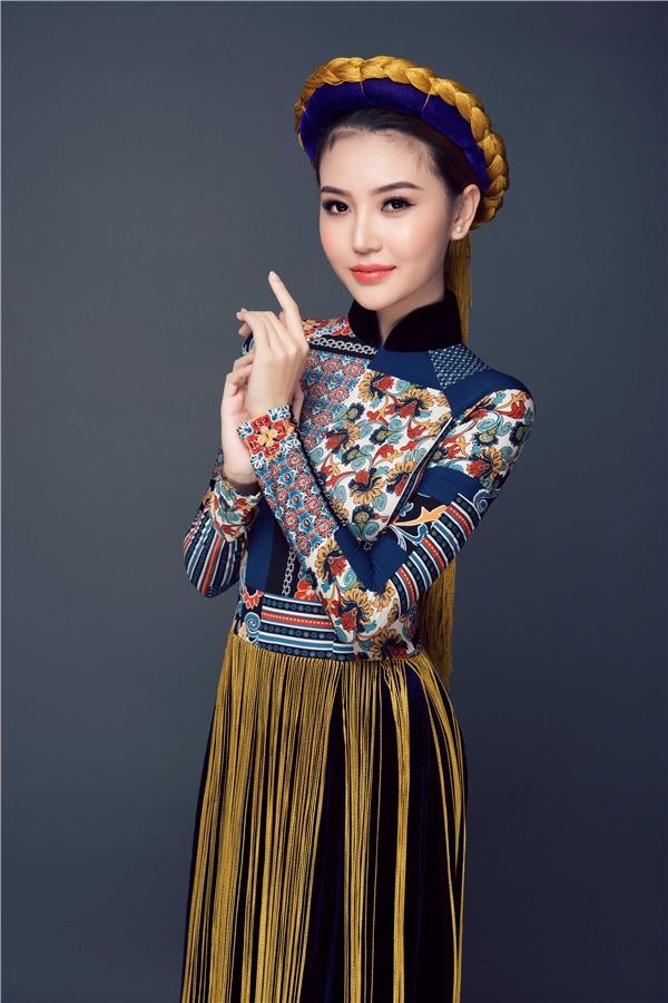 Quốc phục của Ngọc Duyên tại Miss Global Beauty Queen 2016