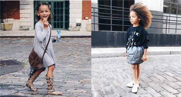 Dù chỉ mới3 tuổi nhưng phong cách thời trangcủa ngôi sao tiềm năngLondon Scoutt đã làm điên đảo khắp các tuần lễ thời trang.